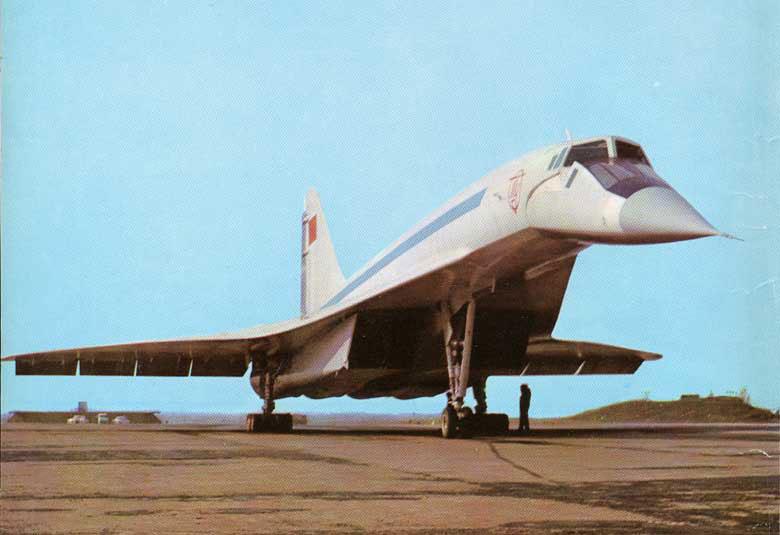 رد: طائرة الركاب الاسرع من الصوت تو-144 .. كونكورد الروسية