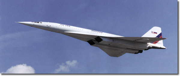 TU-144LL Flying Laboratory